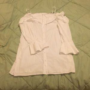 Rebecca Minkoff white shirt